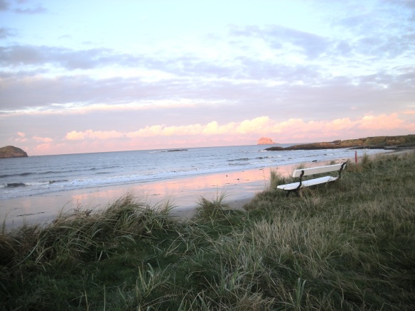 Bench by sea - North Berwick