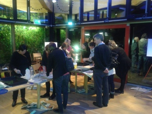Sea Change event - seaweed pressings workshop