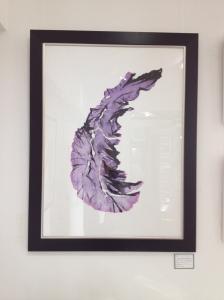 Purple Porphyra print