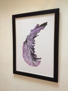 Purple Laver print